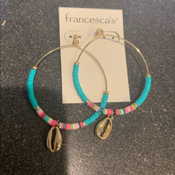 Francesca's Collections Jewelry - Brand new Shell Earrings